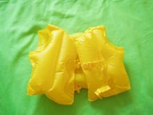 Nafukovacia vesta žltá,
