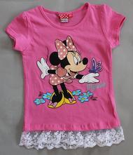 Tričko minnie s krátkym rukávom 82042 - výpredaj, disney,110