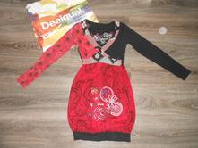 Šaty   Desigual   Červená - Detský bazár  87584e0e0e6