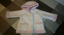 Ružičkový kabátik , ladybird,80