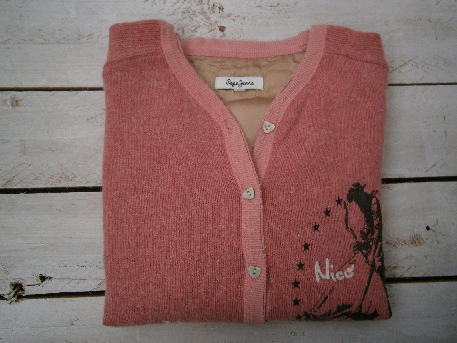 1c19c943a007 Lososový sveter s 3 4 rukávmi