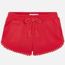 Mayoral dievčenské krátke nohavice 607-019 red, mayoral,92 - 134