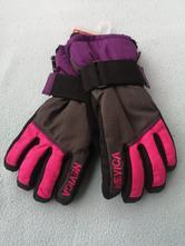 Nevica dievčenske lyžiarske rukavice veľkosť 9-10r, 134 / 140