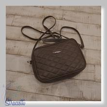 Dámska kabelka - tmavobéžová 6b6ba67a5f8