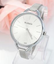Luxusní dámské hodinky womage slim strieborne 5b70c85315