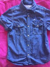 Rifľová košeľa, h&m,134