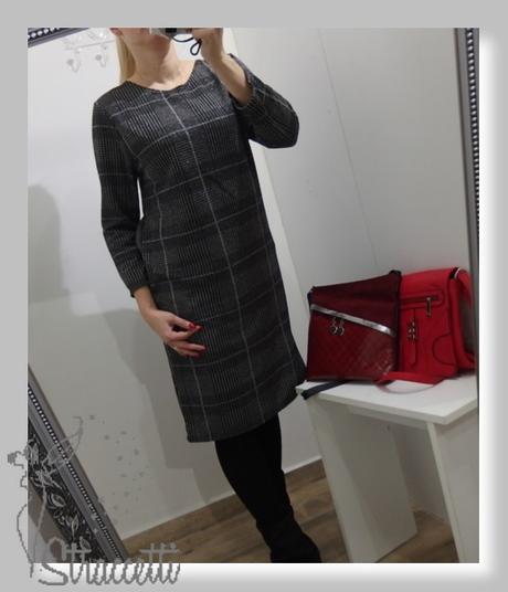 d17df72de5ec Dámske kárované šaty pre moletky
