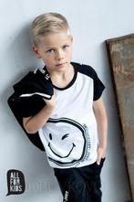 Chlapčenské tričko s krátkym rukávom 432 smile w/b, 104 - 158