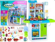 Veľká interaktívna kuchyna+chladnička+umývadlo,