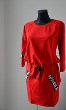 Dámske úpletové šaty,