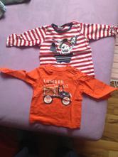 Tričko oranžove, h&m,68
