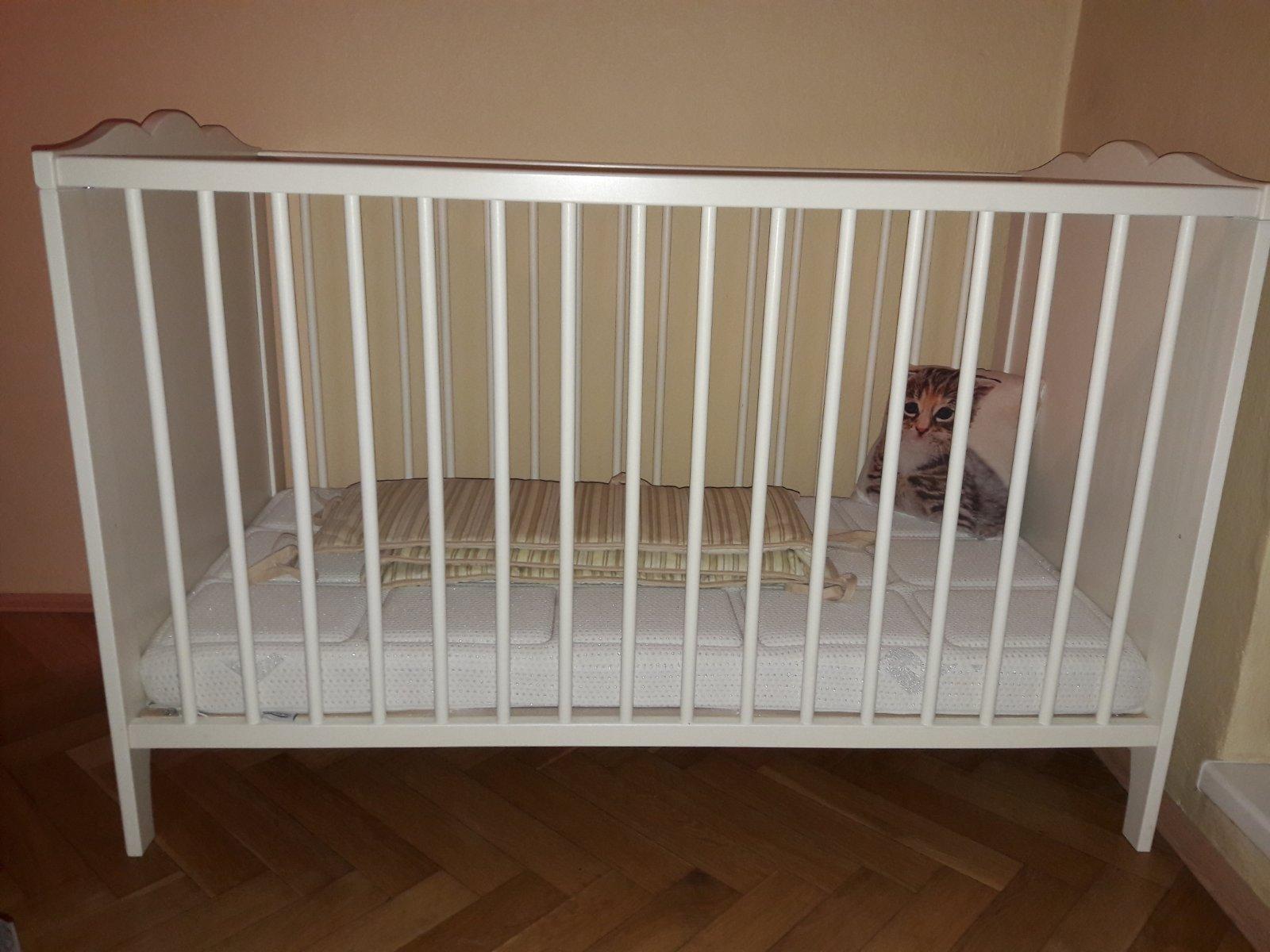 1bf13242e407a Detská postieľka, 60,120 - 50 € od predávajúcej alzbeta12   Detský bazár    ModryKonik.sk