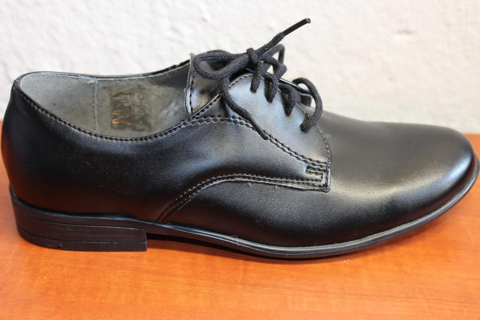 593b322076 Chlapčenské spoločenské topánky 9616 b