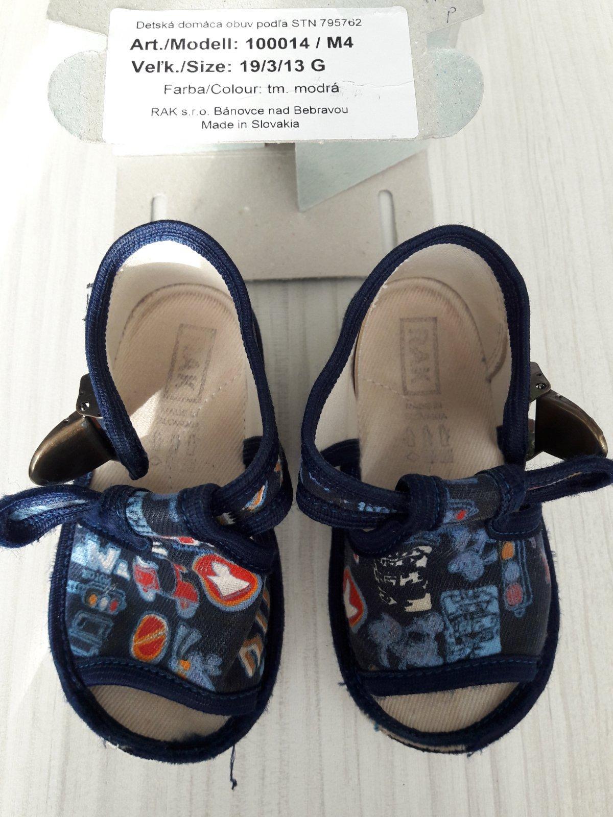 06677f64de Chlapcenske papuce rak