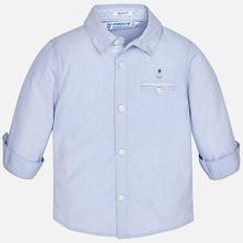 Mayoral chlapčenská košeľa 1170-055 blue, mayoral,68 / 74 / 80 / 86 / 92