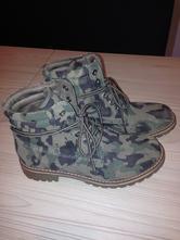 Jesenné topánky - maskáče, 38