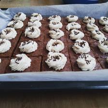 Brownies s gaštanovým krémom