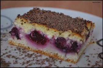 Vynikajúci tvarohovo černicový koláč ♥