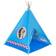 Detský indiánsky stan playto modrý,