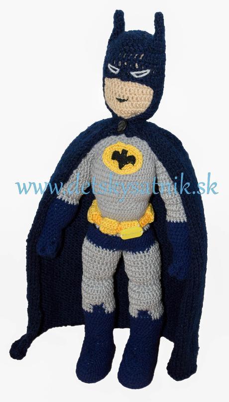 c5cbde4f441a Háčkovaný komiksový hrdina batman