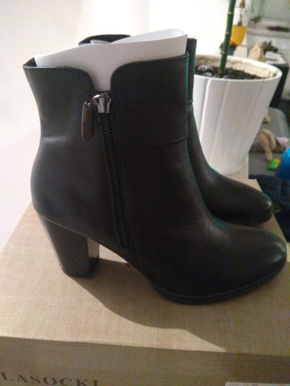 abf29815a9e5 Dámske kožené topánky lasocki