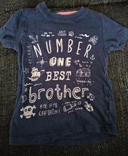 Tmavomodré tričko, veľ. 86, next,86