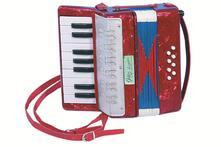 Akordeón so 17 klávesmi,