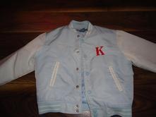 Baseballová bunda pre malého frajera, kenvelo,116