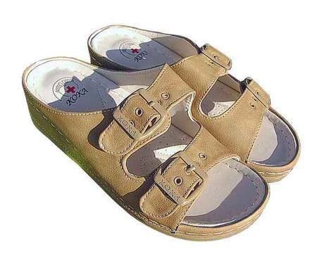 6d2907370e42c Dámska zdravotná obuv so zvýšeným opätkom, koka,36 / 39 / 40 / 41 ...