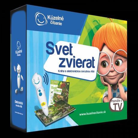 e16cb8533 Svet zvierat kniha s elektronickou ceruzkou, - 43,99 € od predávajúcej af96  | Detský bazár | ModryKonik.sk