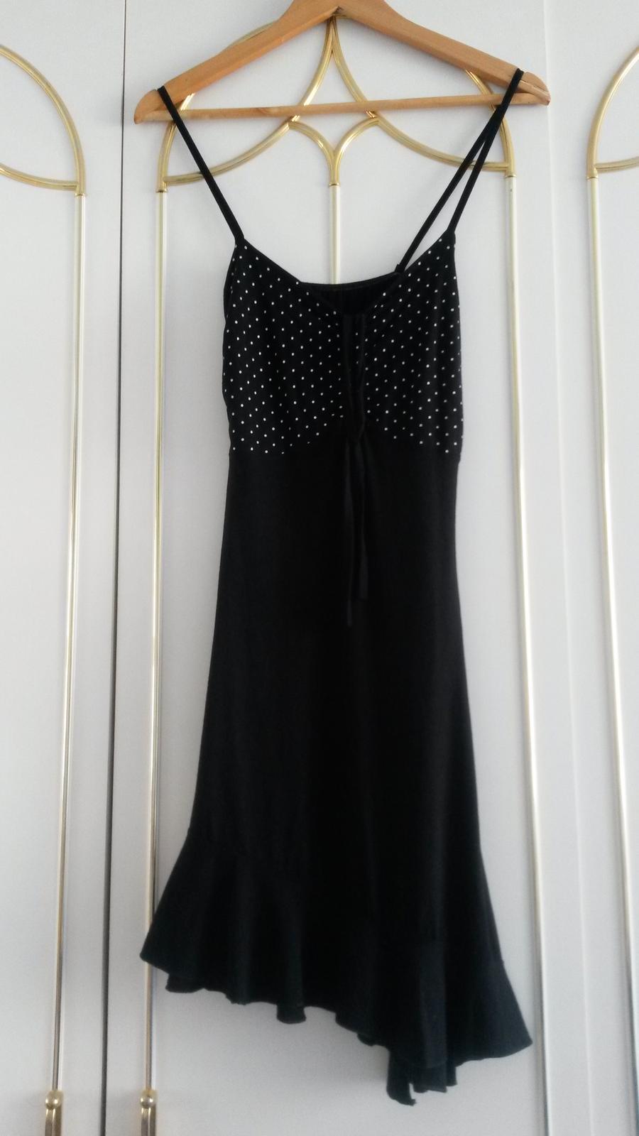 341f18346993 Čierne letné šaty