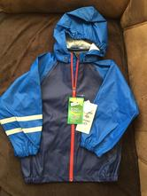 Nepremokavá pogumovaná bunda, h&m,116