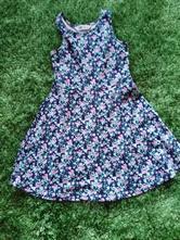 Kvietkované šaty, h&m,134