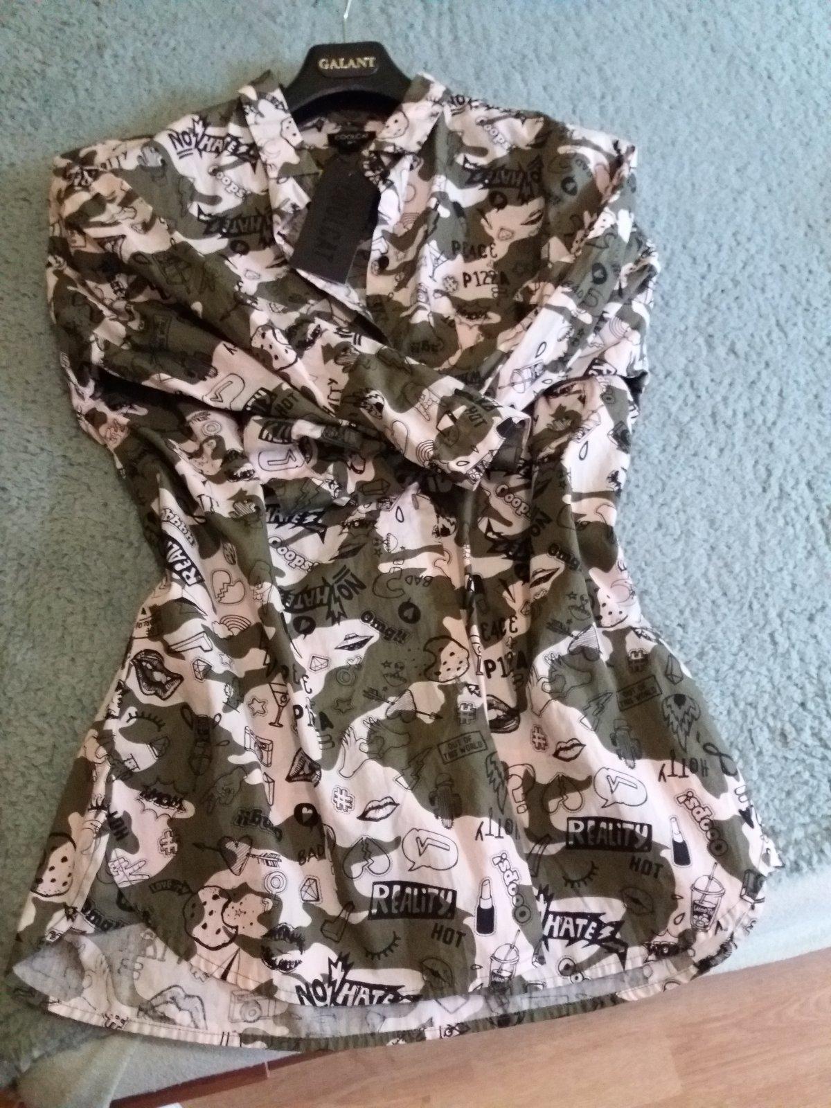 6f7a81626de3 Army košeľa