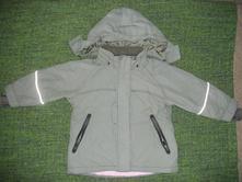 Olivová bunda na chladnú jar/jeseň , h&m,98