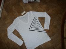 Biele tričko s d.r.-guess originál, guess,l