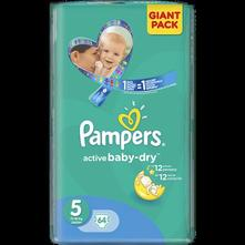 Pampers active baby, pampers,11 kg - 25 kg