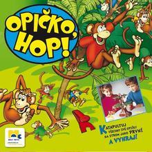 opička, hop,