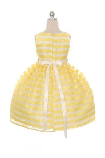 763df239a25d Žlté detské šaty aurora