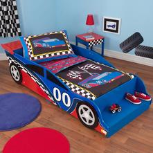 Kidkraft detská posteľ závodné auto, 70,140