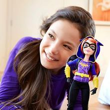 Dc super hrdinka  batgirl  z rozpr batman  ,