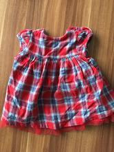 Kárované šaty, nutmeg,56