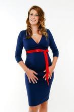 Tehotenské šaty - viac farieb, l - xxxl