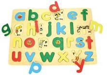 Anglická malá abeceda s obrázkami,