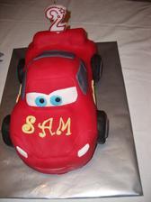 prva 3 D torta, pre Samka k narodeninam