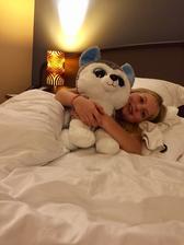 dobru nocku v hoteli v Prahe