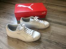 Kožené biele puma sneakersy, puma,38