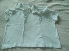 Tričká s kr. rukávom pre dievčatá dvojičky 110, 110