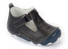 154f80797d4c Barefoot celokožená obuv bebebia - tmavomodré