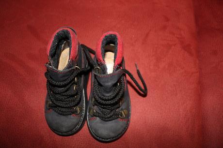 Prechodné kožené vysoké topánky 21 03ef104dc38